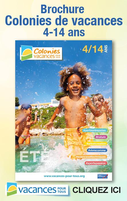 Brochure été 2020 pour les enfants de 4 à 14 ans