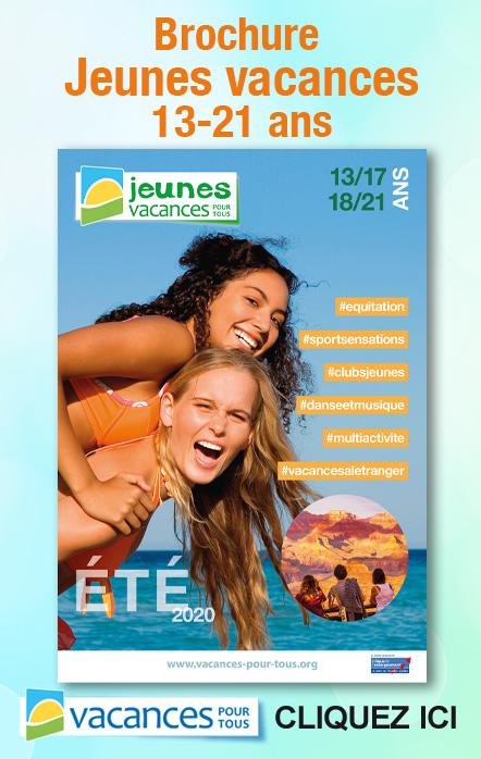 Brochure été 2020 pour les jeunes de 13 à 21 ans