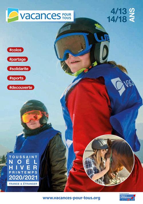 Brochure hiver 2020/2021 enfants 4-18 ans